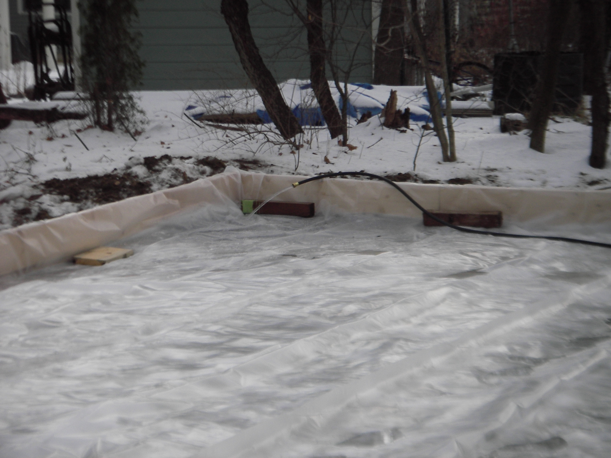 top backyard ice rink liner architecture nice