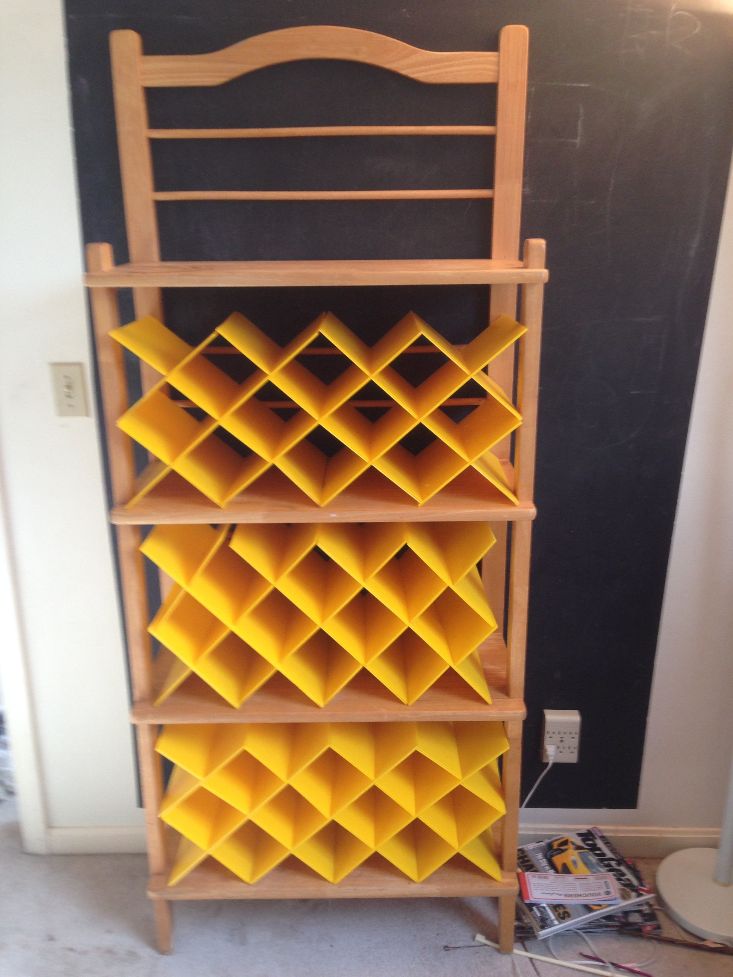 Claypool Knitting Shelves