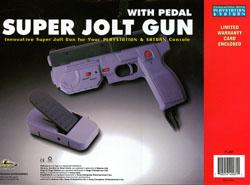 Vibration In Foot >> Real Arcade Light Gun / Super Jolt Gun